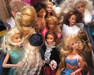 barbies each sold w/ outfit -