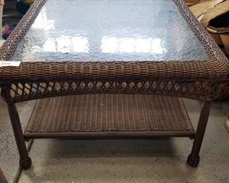 Outdoor patio table 20 x 30 x 30