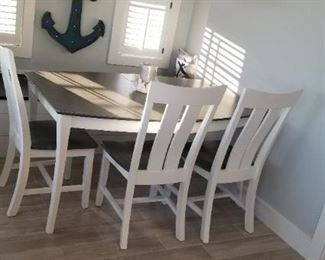Dining set seats 4 (one chair not shown)