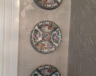 Oriental plates