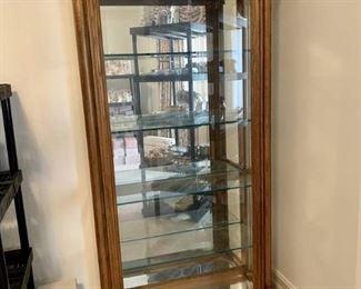 5 Shelf Curio Cabinet