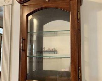 Hanging Curio Cabinet