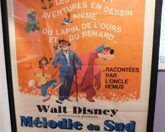 Rare Song Of The South Grande Poster French