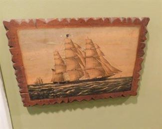 Vintage Decoupage Art