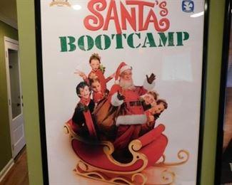 Santa's Bootcamp Original Poster
