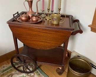 Antique Tea Cart More