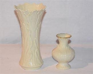 1. Two 2 LENOX Vases