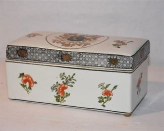 2. Porcelain Box With Lid