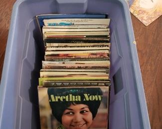 Lots of great lps Aretha, Supremes, Grand Funk, Iron Butterfly, Neil Diamond , Grand Funk