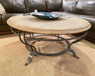 "Coffee Table- 44"" diameter x 21""H"
