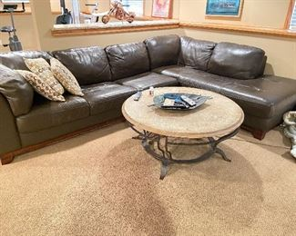 """Sectional- 34""""D x 83""""L x 122""""W x 29"""" back height"""