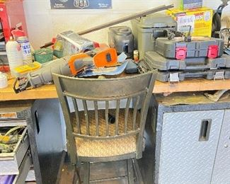Tool chests and chair