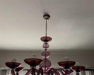 Amazing Murano chandelier
