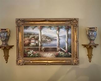 Nice artwork throughout the home