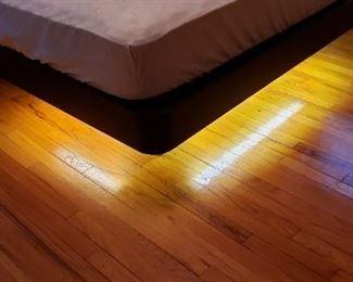Queen Bed - Lighting Under Base