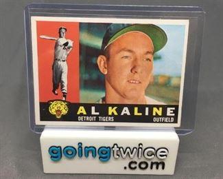 1960 Topps 50 AL KALINE Tigers Vintage Baseball Card