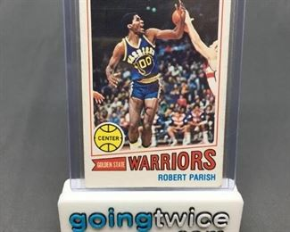 1977-78 Topps #111 ROBERT PARISH Celtics ROOKIE Basketball Card