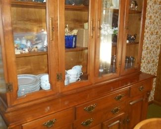 Large Early  American china hutch