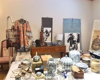 Asian art and collectibles, home decor and more (robe no longer available)