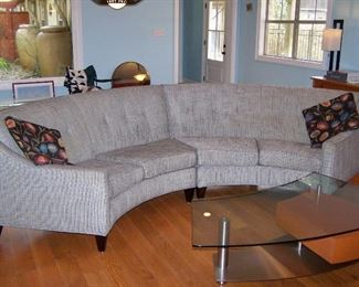 Yes We have two beautiful sofas!