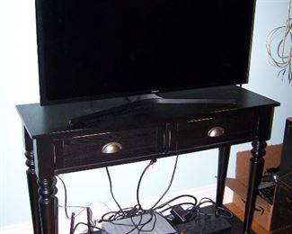 Samsung LED TV,  Console Table sells separately