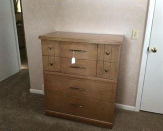 Mid Century Dresser. Huge drawers.
