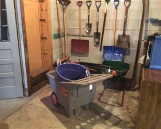 Yard tools in great shape!