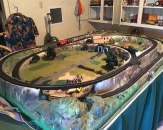HO Scale Train Track