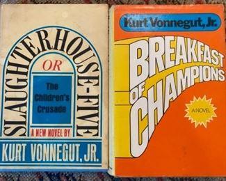 Kurt Vonnegut, Jr First Editions