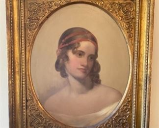 'Portrait of Sally Arnold'     Oil       Francis Alexander