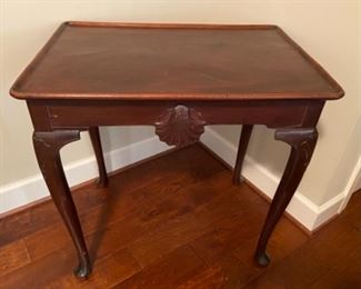 Mahogany Queen Ann Side Table