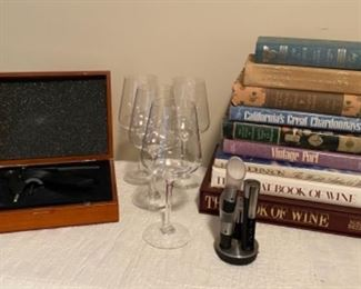 Wine Accessories and Books