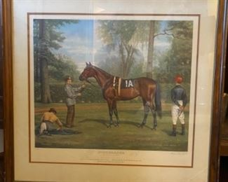 'Buckpasser'    Signed Print    Richard Stone Reeves