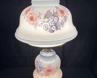 Vintage Electric Hurricane Lamp