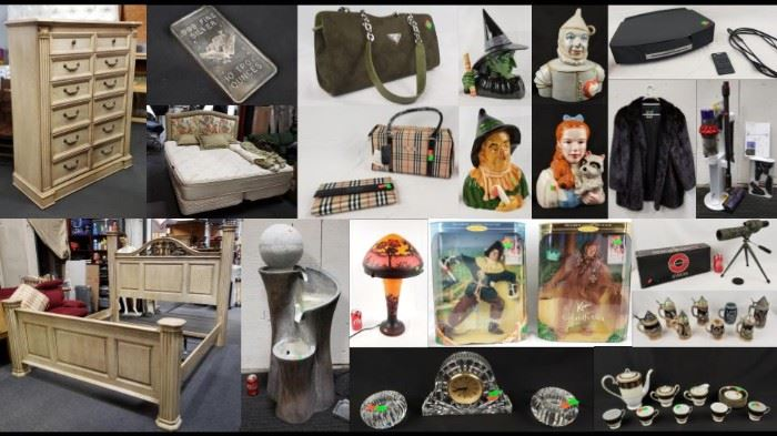 Wizard of Oz, Fine Furniture More Online Auction