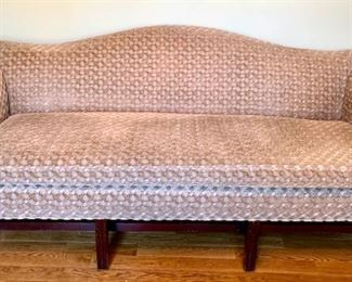 Camelback sofa by Century in very good condition.