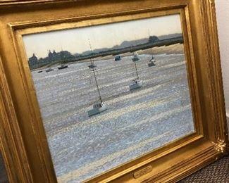 WIlliam Henry Inness $3,300 The Tranquil Estuary