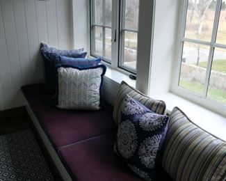 All custom made pillows priced separately depending on size and the fabric and trim used. PILLOWS DRASTICALLY REDUCED!!