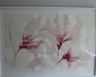 """Three Magnolia's"" Original by Susan Habel $900 REDUCED TO $700!"