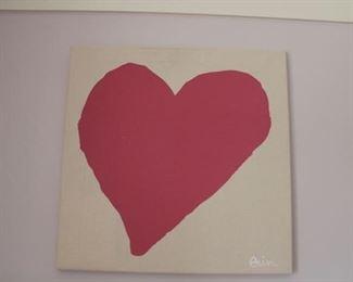 Heart - original by Erin Flett $125
