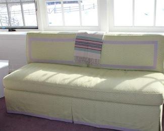 Custom-made petite sofa. $400