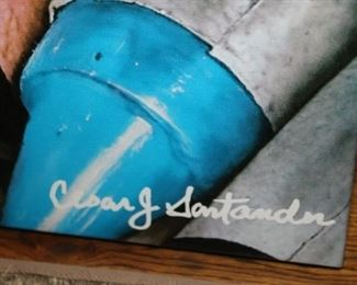 "C. Santander giclee ""Box of 64"""