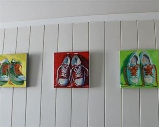 Original paintings by Henry Stinson signed $850 each. REDUCED TO $650 EACH. Stinson is a listed artist!