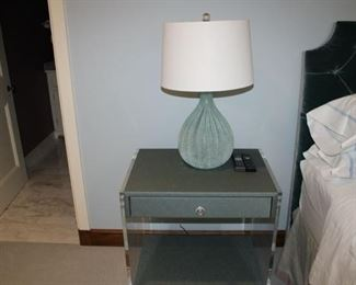2 greenish end tables with drawers reduced to $200 each!!!