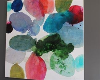 Original Contemporary work by listed artist, Meredith Pardue. Approximately 5' x 5', signed $18,500.00