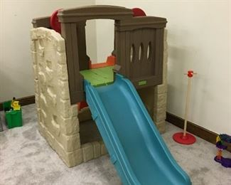 Fort with slide for kids, $50!