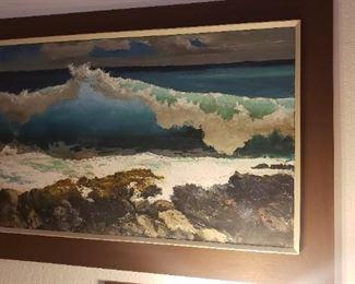 Peter Hayward Oil Original Art