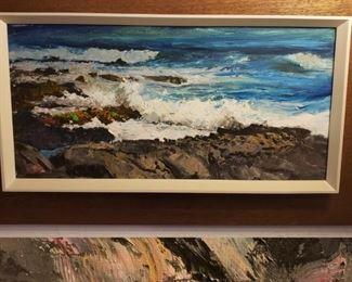 Peter Hayward Original Oil on Canvas Painting