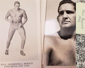 1940s Paul Boesch Promotional Material