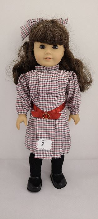 Samantha Parkington with classic meet outfit